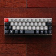 """""""The Bantam-44, easily misread as Batman-44, is a stunning keyboard for those of you with the need for pretty much the bare typing components.  Credit to…"""""""