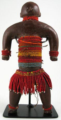 Cameroon beaded doll