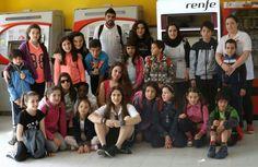 Participantes de programas de Participación Infantil y Juvenil y Éxito Escolar en Basauri y Ugao, han realizado una jornada de juegos al Aire Libre en el parque Mendikosolo (Arrigorriaga)