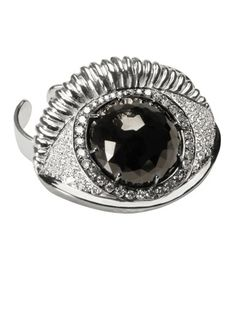 Delfina Delettrez ring #harpersbazaar #fashion #accessories #delfinadelettrez #ring