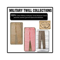 Our signature Military Twill online!