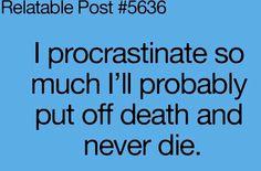 Never die...