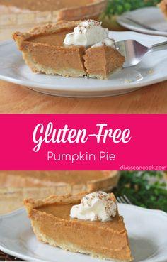 Gluten-Free Pumpkin Pie + Pie Crust| This Homemade Pumpkin Pie Recipe Is A True Southern Classic! 😋 😋 😋 😋 😋 😋 🎃 🎃 🎃 🎃 🎃 🎃 🎃 🎃 🎃 🎃 🎃 🎃 🎃 🎃 🎃 🎃 🎃 🎃 🎃 🎃 🎃 🎃 🎃 🎃 🍰 🍰 🍰 🍰 🍰 🍰 🍰 🍰 🍰 🍰 🍰 🍰 🍰 #pumpkinpie #glutenfree #dessert #pie #piecrust #fallrecipes #comfortfood #homemade Gluten Free Pumpkin Pie, Best Gluten Free Desserts, Homemade Pumpkin Pie, Pumpkin Pie Recipes, Easy Pie Recipes, Pie Crust Recipes, Dessert Recipes, Free Recipes, Easy Pie Crust