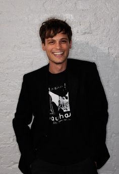 Matthew Gray Gubler...   He's mostly just beautiful. Not the biggest fan of Criminal Minds.