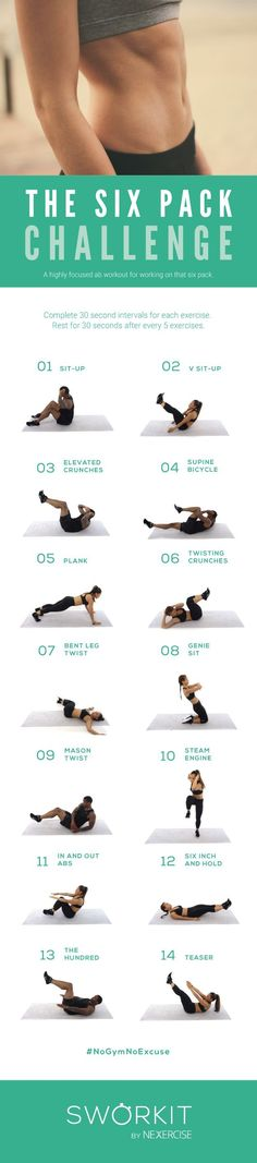 Time to get your abs into shape!