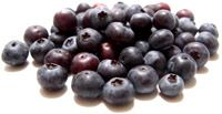 Blueberries contain cancer-fighting antioxidants and may play a role in reducing your risk for heart disease.