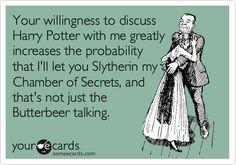 Harry Potter pick up line...
