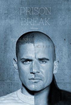 PRISON BREAK <3 selfmade title design
