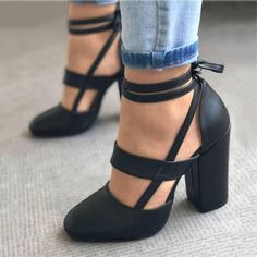 black low chunky heels Women/'s sandals pink EUR,US 34-41size gray and red
