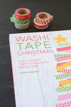 Washi Tape Christmas (the new book!!) | by Kami Bigler | NoBiggie.net #washitapechristmas