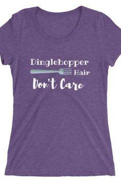 97b8b0caf66 Dinglehopper Hair..Dont Care T-shirt - Mermaid T Shirt - Ideas of
