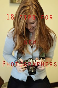 Tips for new photographers. Pic the Moments photography blog.