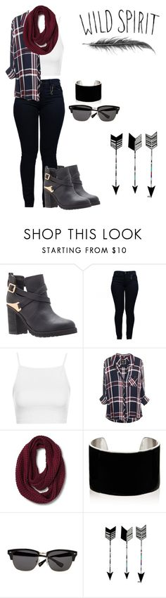 """""""Sin título #207"""" by agus16 ❤ liked on Polyvore featuring Miss KG, Armani Jeans, Topshop, IaM by Ileana Makri, Ted Baker and Cool Shit"""