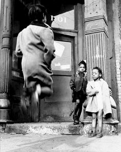 "Wayne F. Miller ""Child Jumping"" Midwest, Published in Ebony, December 1951 From Wayne F. Marc Riboud, Robert Doisneau, Lower East Side, Magnum Photos, Old Photography, Street Photography, Classic Photography, Inspiring Photography, Creative Photography"
