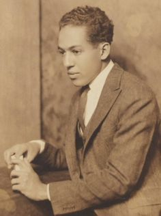 Langston Hughes ~ particularly known for his insightful, colorful portrayals of black life in America from the twenties through the sixties. He wrote novels, short stories and plays, as well as poetry.