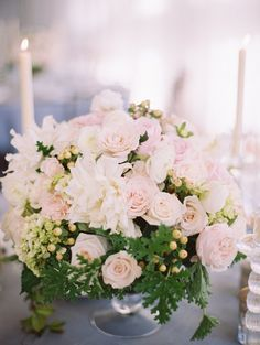 #floral_Arrangement Elegant Vineyard Wedding