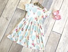Fly Away Dress:  on SALE for $13.50 with a share!