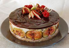 Cuisine solo: Figue pomme & framboise, dans un crémeux vanillé