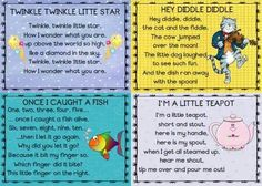 Verse Nursery Rhyme Crafts, Nursery Rhymes Preschool, Nursery Rhyme Theme, Nursery Rhymes Songs, Kids Rhymes, Kindergarten Songs, Preschool Songs, Baby Songs, Kids Songs
