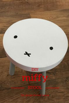 DIY Miffy stool