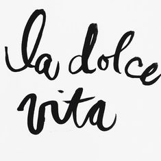 Dolce Vita (literally 'the good life') has come to define a very definite fashion DNA, reflective of that joyful mood. Bold, vibrant, spirited and confidently feminine, it's irresistible Food Quotes, Me Quotes, Motivational Quotes, Inspirational Quotes, Family Quotes, Sweet Life Quotes, Short Quotes, Bible Quotes, Funny Quotes