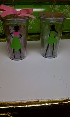 pink and brown vinyl cup ideas - Google Search