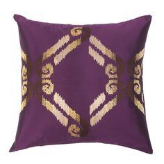 Ikat Diamond Pillow