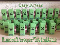 Minecraft Creeper Sure Cake Ideas And Designs