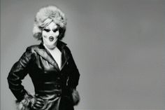 I just love this look bev hills biach meets russian babooska after a face lift! Leigh Bowery, Just Love, Goth, Joker, Punk, People, Movies, Fictional Characters, Image