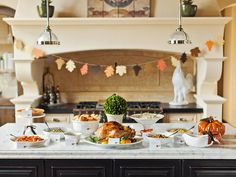 Tips for Hosting a Potluck Dinner for Thanksgiving Plus: How to Set Up a To-Go Station >> http://www.hgtv.com/design/make-and-celebrate/handmade/tips-for-hosting-a-thanksgiving-potluck-dinner-plus-how-to-set-up-a-to-go-station-pictures?soc=pinterest