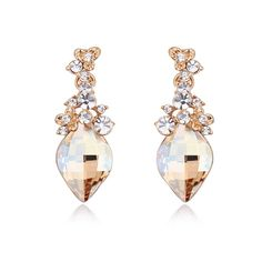 >> Click to Buy << Btime New Arrival Drop Dangle Earrings Crystal for Swarovski  Pendant Earring Women Jewelry Gift #Affiliate