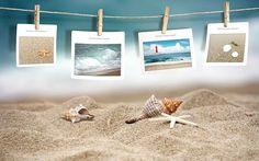 Asadal Creative Design :  Frameworks for photos - Creative Design : Memories of the Beach ( Digital Composite)12