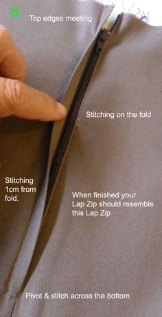 Sew Outside the Lines™ with Jody Pearl: Lap Zip Tutorial.....& another skirt!