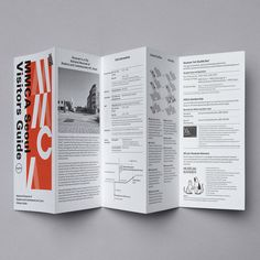 Leaflets for the National Museum of Modern and Contemporary Art, Seoul Leaflet 2018 Exhibition Guide Design: Solah Koh, Year: 2018 Visitors. Pamphlet Design, Leaflet Design, Booklet Design, Book Design Layout, Graphic Design Brochure, Corporate Brochure Design, Brochure Layout, Seoul, Mises En Page Design Graphique