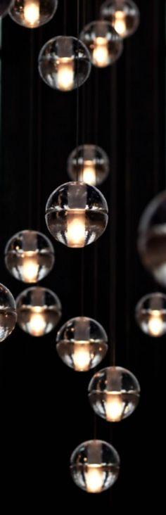 Glass Bubble Lighting