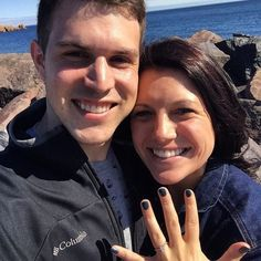 Congratulations to Sean and Candace on their engagement!!! We customized the ring to hold an Emerald cut in the center! It turned out amazing!