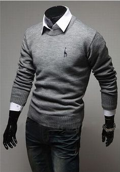 FREE SHIPPING VERY IMPORTANT TO CHECK THE CHART FOR SIZE Gender: Men Pattern Type: deer Sleeve Style: Regular Style: Casual Technics: Computer Knitted Material: Cotton,Polyester Item Type: Pullovers T