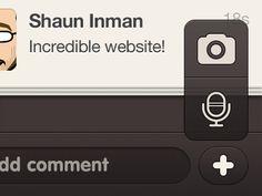 Dribbble - iPhone app design | chat app | UI / UX by Justalab (via Julien Renvoye)