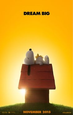 The Peanuts Movie teaser poster snoopy
