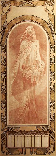 "psychedelicway: ""Alphonse Mucha """