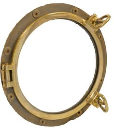 """20"""" Solid Brass Heavy Duty Porthole Window Nautical Tropical Home Decor >>> Check out this great image  : Home Decor Wall Pediments"""