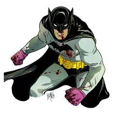 Batman by Felipe Smith - Womens Batman - Ideas of Womens Batman - Batman by Felipe Smith Batman Wonder Woman, I Am Batman, Superman, Batwoman, Nightwing, Batgirl, Gotham City, Comic Books Art, Comic Art