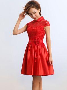 Mandarin Collar Qipao / Cheongsam / Chinese Bridesmaid / Evening Dress