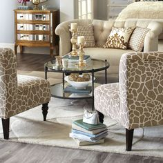 Chasca Glass Top Brown Square End Table Squares Kitchen Living - Chasca coffee table
