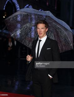 Benedict Cumberbatch attends a screening of 'The Imitation Game' on the opening night gala of the 58th BFI London Film Festival at Odeon Leicester Square on October 8, 2014 in London, England.