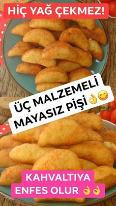 Sadece 3 malzeme ile lezzetine doyum olmaz, hiç yağ çekmez Harika bir pişi t… With only 3 ingredients, its taste is not satisfying, it does not attract any oil. Dog Food Recipes, Great Recipes, Candida Diet Recipes, Chicken And Biscuits, Good Food, Yummy Food, Biscuit Recipe, Hot Dog Buns, Bagel