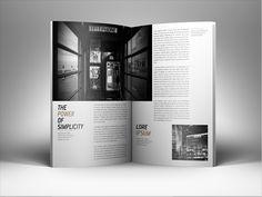 Porterbook / WolfHunt Журнал редакционных Design Подаются