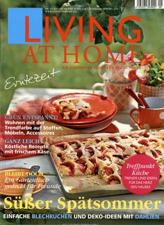 Living at Home Ausgabe Living At Home, Live, Breakfast, Magazines, Food, Homes, Ideas, Morning Coffee, Journals