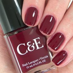 "Crabtree & Evelyn ""Wine"" nail polish ~ Chantal's Corner"