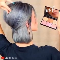 3 ways on how to style big voluminous hair! By: Cini 3 ways on how to style big voluminous hair! By: Cini Short Hair Dos, Short Hair Styles, Curls On Short Hair, How To Curl Short Hair, Midi Hair, Undercut Long Hair, Hair Undercut, Big Braids, Voluminous Hair